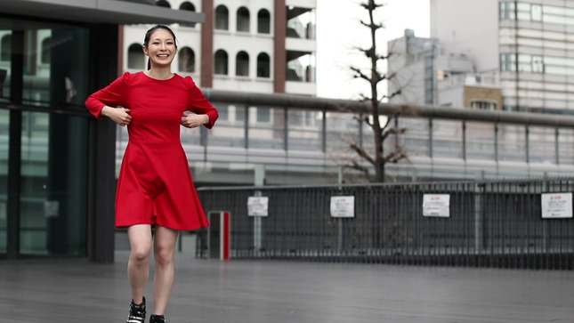 住田紗里アナが本気でフル尺踊ってみた 女子アナダンス部 22
