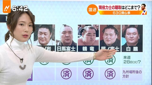 小林由未子 Nスタ あさチャン! 1
