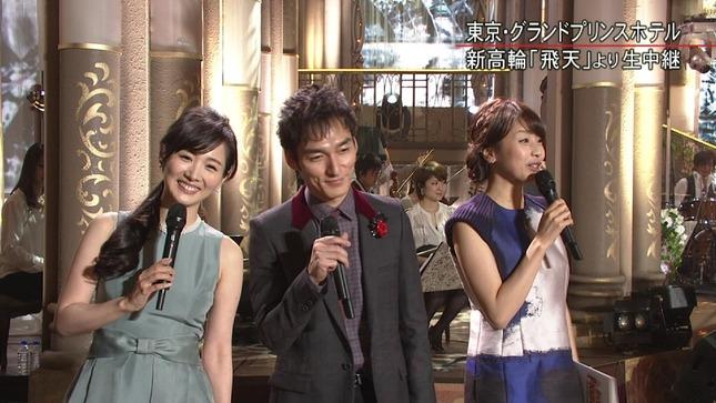 高島彩 加藤綾子 2014 FNS歌謡祭 19