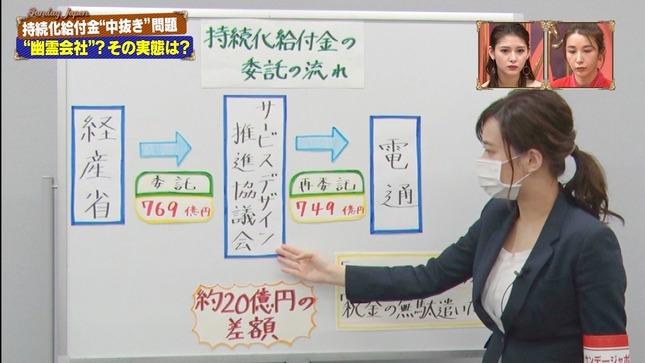 篠原梨菜 サンデー・ジャポン 4