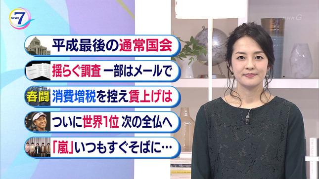 鈴木奈穂子 NHKニュース7 15