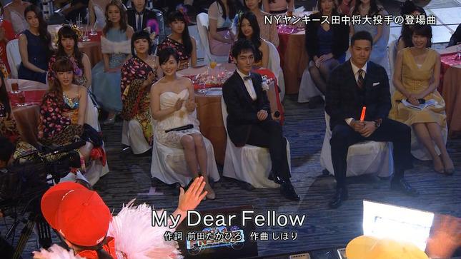 高島彩 加藤綾子 2014 FNS歌謡祭 02
