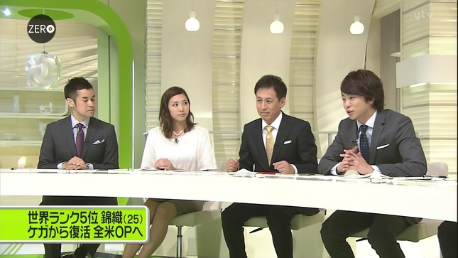 山岸舞彩 NewsZero 24