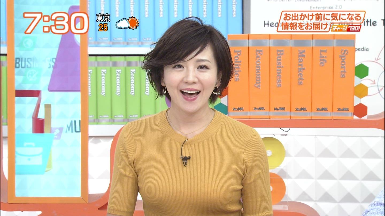 (速報)大橋未歩アナの今朝のお乳が凄かった件☆☆