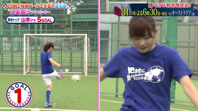 久冨慶子 女子アナキックチャレンジ 7