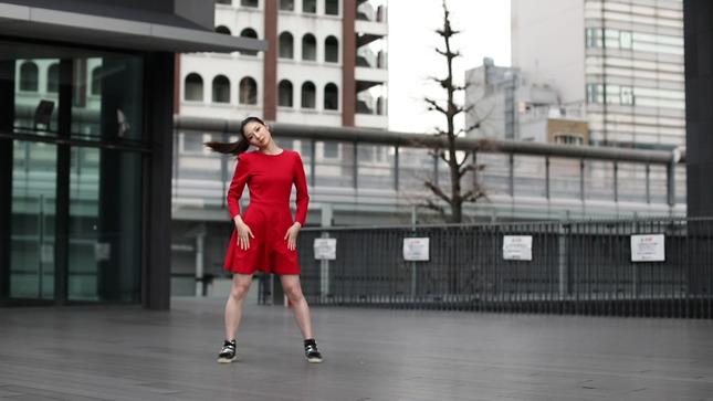 住田紗里アナが本気でフル尺踊ってみた 女子アナダンス部 3