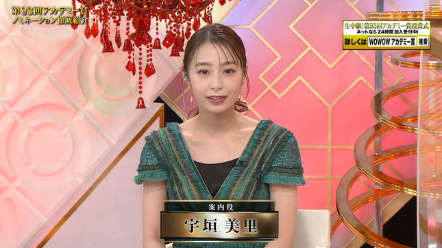 宇垣美里 第93回アカデミー賞ノミネーション徹底紹介 1