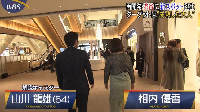 相内優香 ワールドビジネスサテライト 大江麻理子 片渕茜 3
