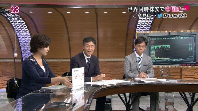 膳場貴子 News23 18