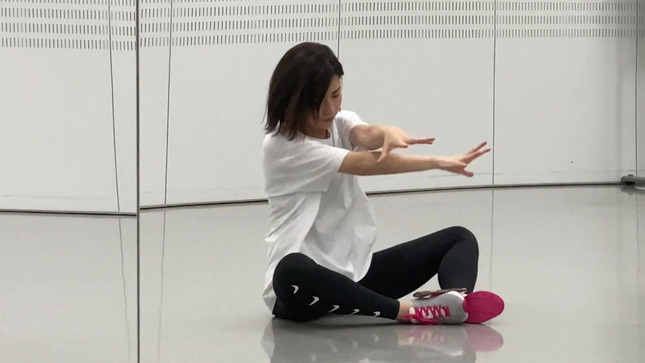 田中萌アナ10日間の記録 女子アナダンス部 36