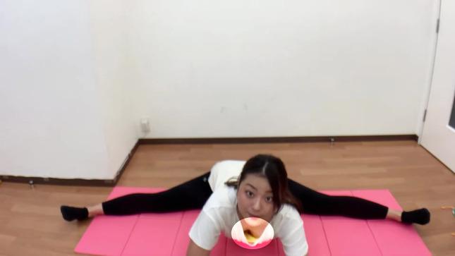 長沢美月 mizuki channel 開脚ストレッチ 30