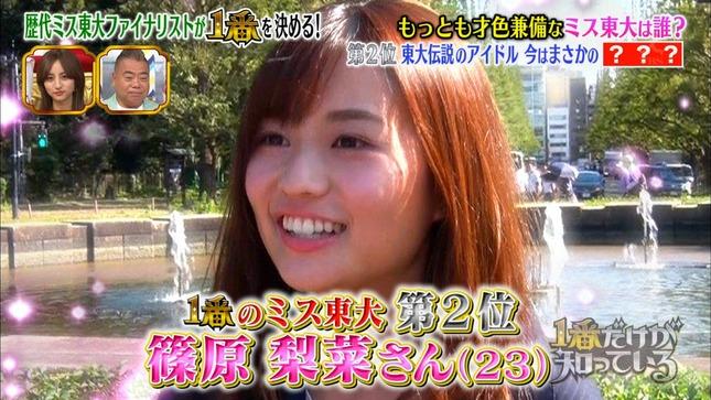 篠原梨菜 TBSニュース 1番だけが知っている 17