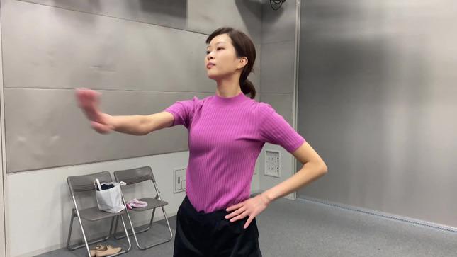 下村彩里 女子アナダンス部 練習編 7
