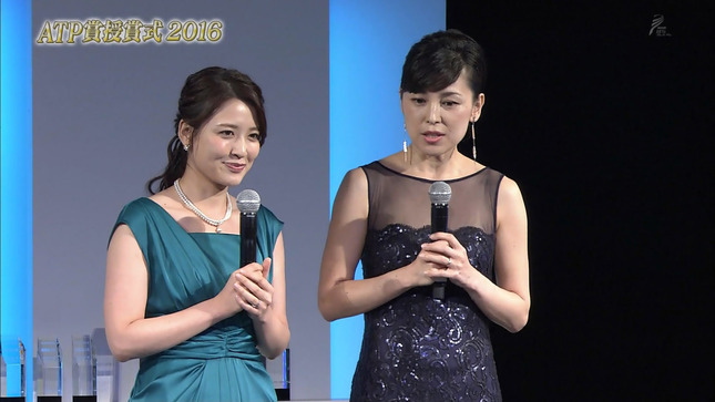 小熊美香 與芝由三栄 ATP賞授賞式2016 4