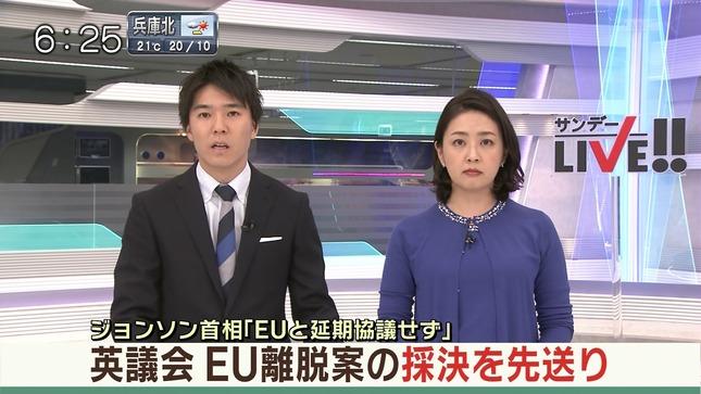 矢島悠子 スーパーJチャンネル サンデーLIVE!! ANNnews 2