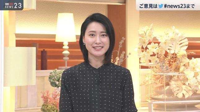 小川彩佳 news23 山本恵里伽 16