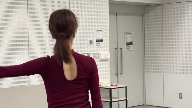 下村彩里 女子アナダンス部 練習編 25