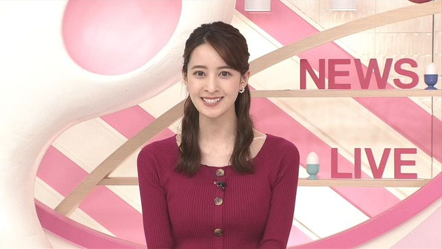後呂有紗 Oha!4 news every 13