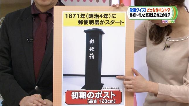 枡田絵理奈 ひるおび! ニットセーターのおっぱい 55