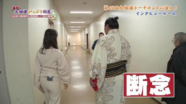 唐橋ユミ 感動!大相撲がっぷり総見 17