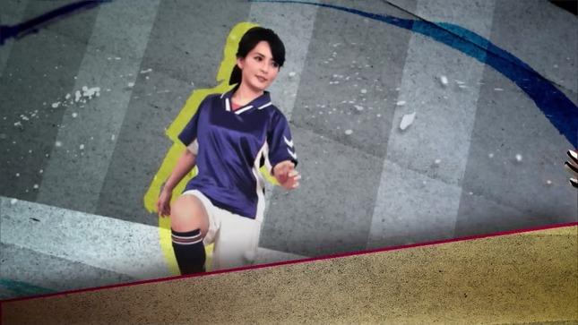 深津瑠美 ワールドスポーツSOCCER 01