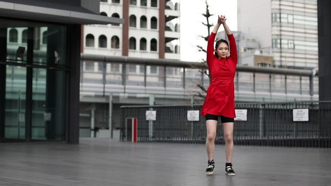 住田紗里アナが本気でフル尺踊ってみた 女子アナダンス部 9