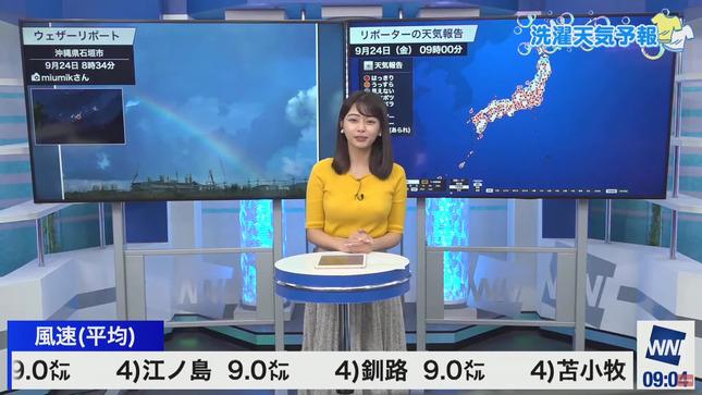 角田奈緒子 ウェザーニュースLiVE 14