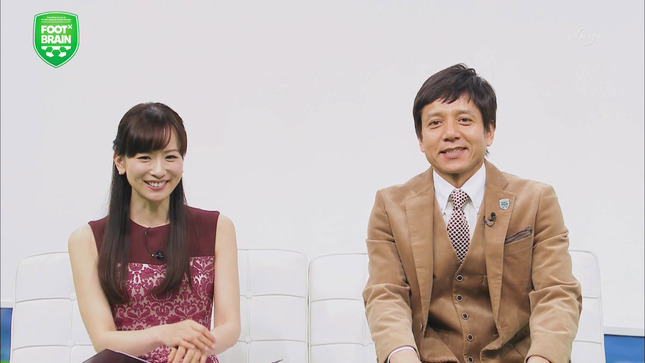 皆藤愛子 FOOT×BRAIN 1