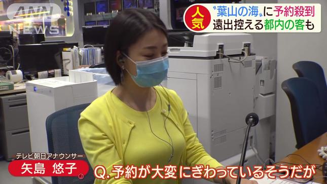 矢島悠子 スーパーJチャンネル ANNnews 6