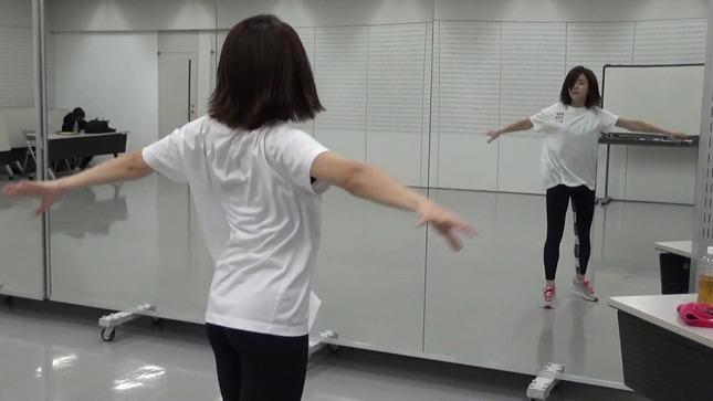 田中萌アナ10日間の記録 女子アナダンス部 16