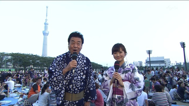 繁田美貴 第37回隅田川花火大会 金曜オトナイト 02