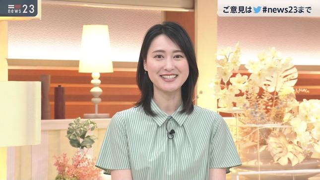 小川彩佳 news23 25