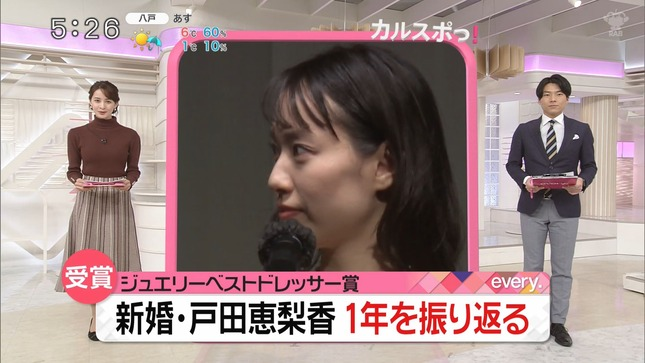 後呂有紗 news every Oha!4 ZIP! 3