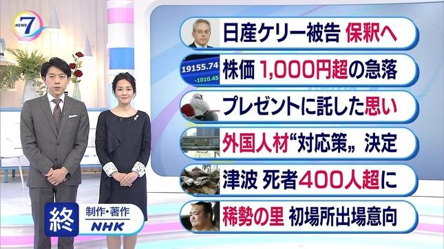 鈴木奈穂子 NHKニュース7 6
