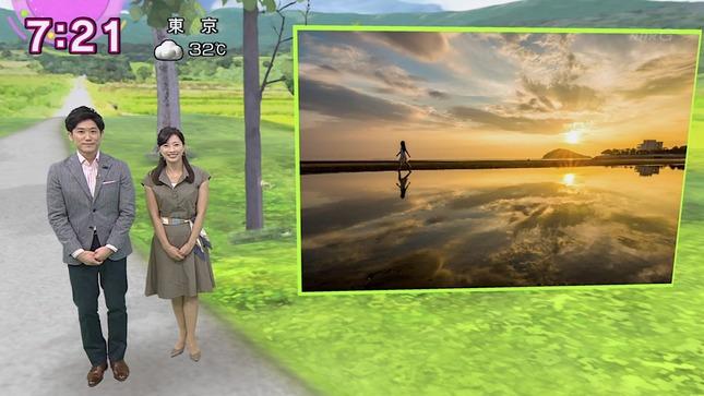 小郷知子 おはよう日本 上村陽子 2