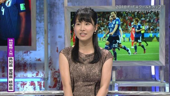 澤田彩香 2018FIFAワールドカップウイークリーハイライト 7