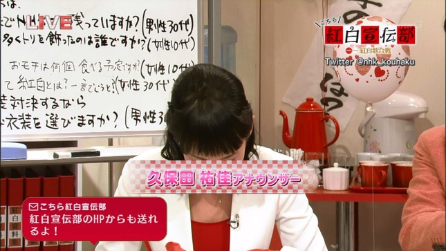 久保田祐佳 紅白宣伝部 09