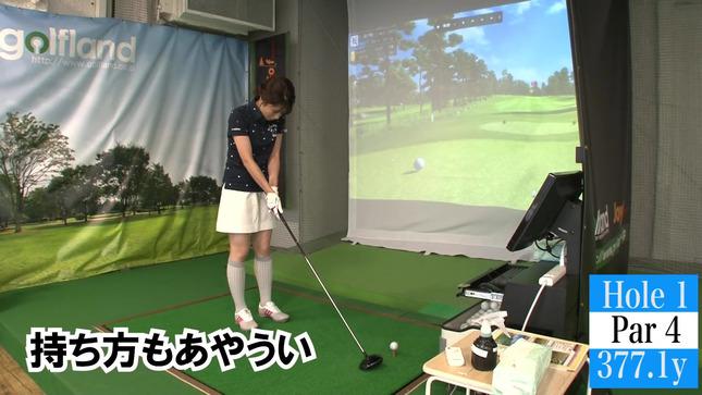 田中萌アナが120を切るまでの物語 11