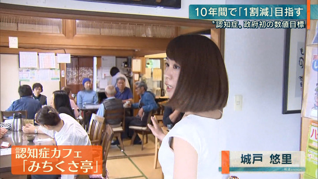城戸悠里 報道ステーション 2