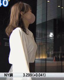 片渕茜 ニュースモーニングサテライト 23