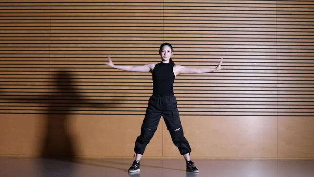 住田紗里アナが本気でフル尺踊ってみた 女子アナダンス部 15