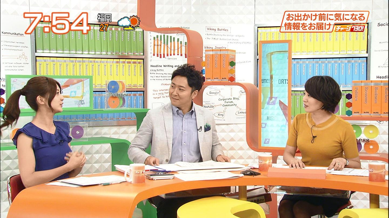 大橋未歩アナ ブラの模様が透けるほどのピタピタ美巨乳☆☆