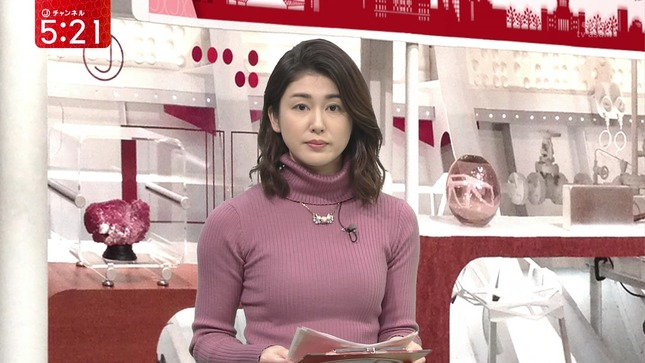 加藤真輝子 スーパーJチャンネル 竹内由恵 4