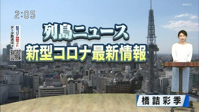 橋詰彩季 列島ニュース おはよう東海 7