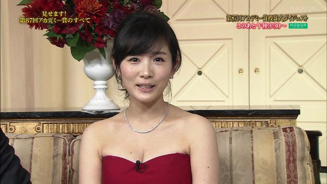 高島彩 第87回アカデミー賞授賞式ダイジェスト 04