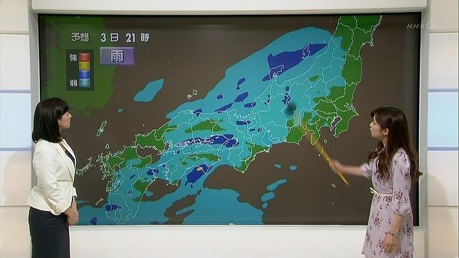 小郷知子 寺川奈津美 NHKニュース7 13
