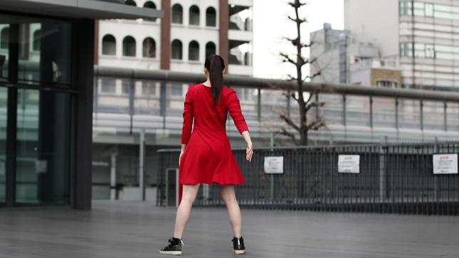 住田紗里アナが本気でフル尺踊ってみた 女子アナダンス部 17