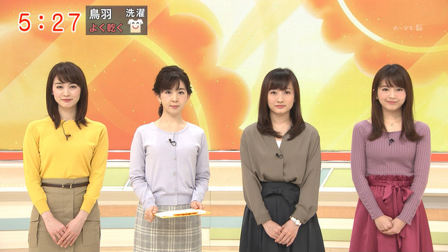 新井恵理那 グッド!モーニング 松尾由美子 17