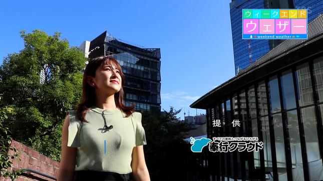 與猶茉穂 ウィークエンドウェザー TBSニュース 8
