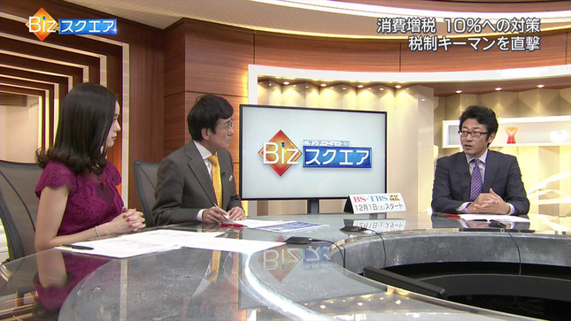 古谷有美 サンデーニュースBizスクエア 7
